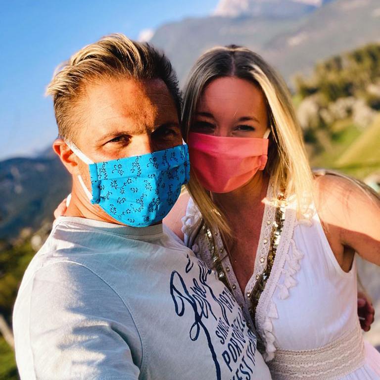 Kleidermacherin Maskenpflicht Chrisi Matty - Ein Monat Maskenpflicht in Österreich